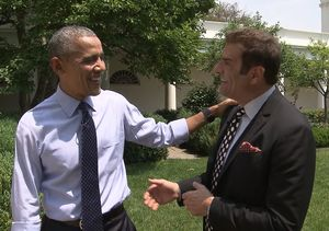 Our Exclusive with President Obama