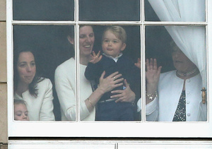 Prince George Steals the Show