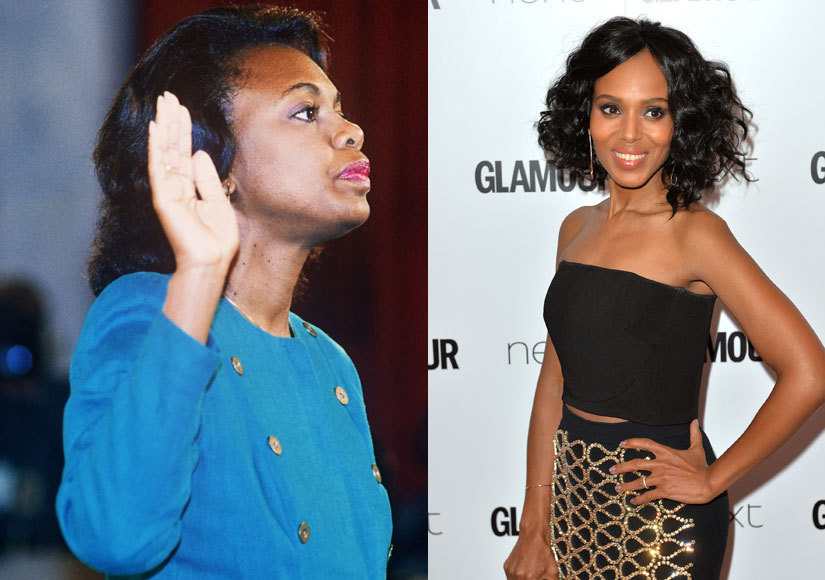 First Look: Kerry Washington as Anita Hill in 'Confirmation'