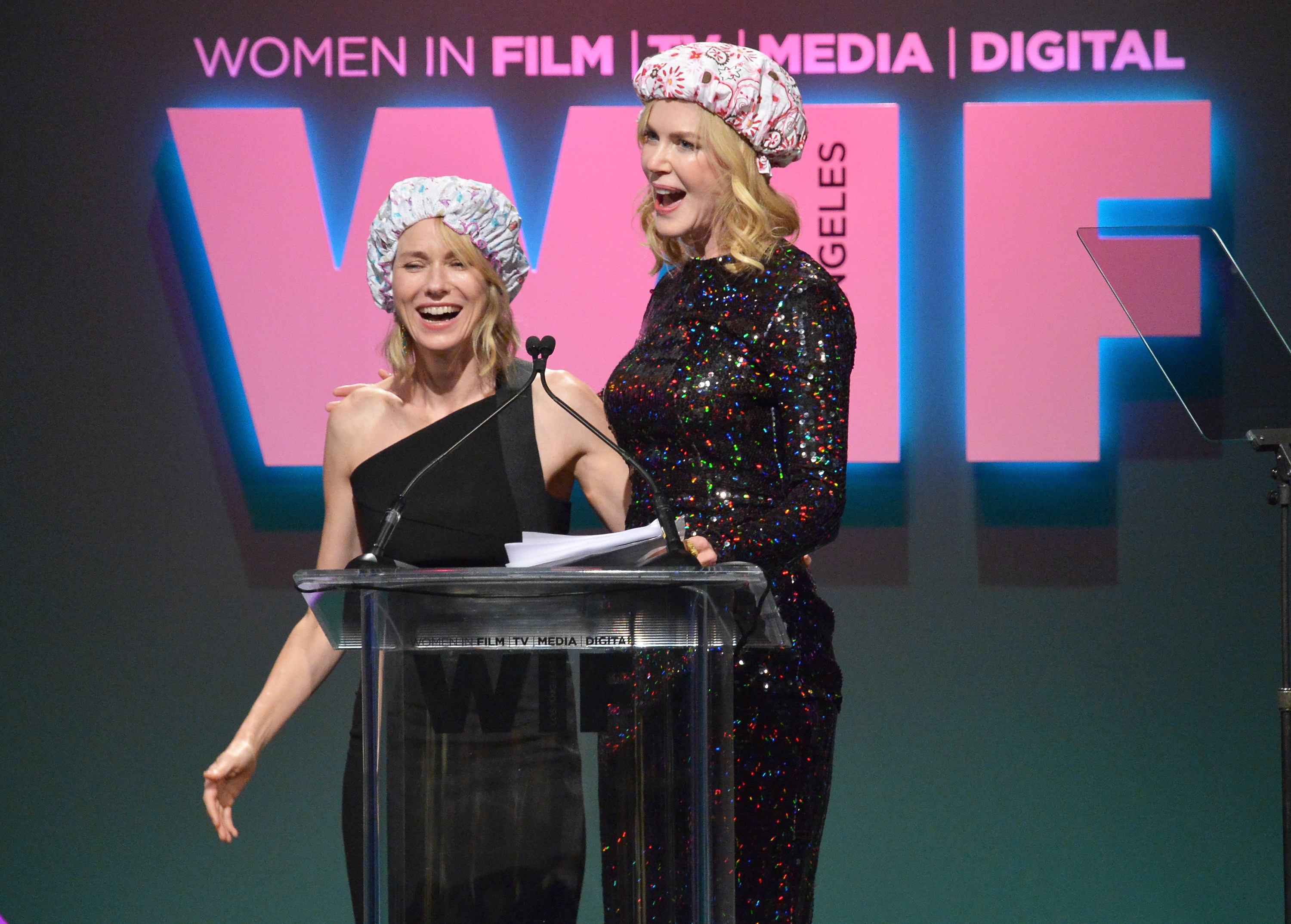Nicole Kidman and Naomi Watts Smooch Onstage… Want to Know Why?