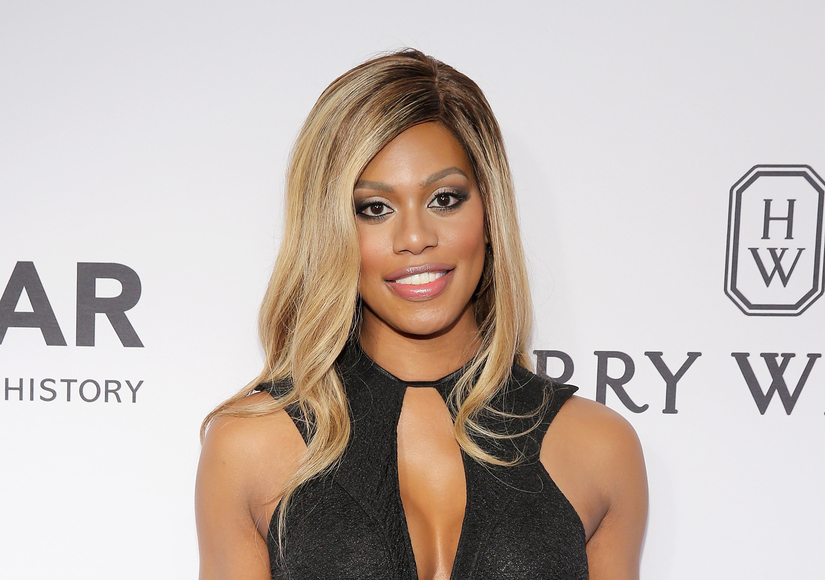 Inside Scoop: 'OITNB' Star Laverne Cox Gets Her Own Ice Cream Flavor!