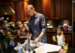 Has the Presidency Made Barack Obama a Better Dad?