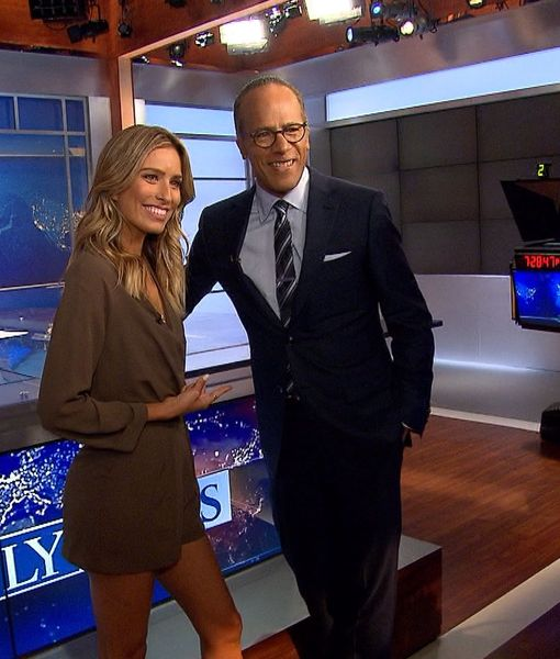 Lester Holt on 'NBC Nightly News,' His Wife Carol, and His Talk with Brian…