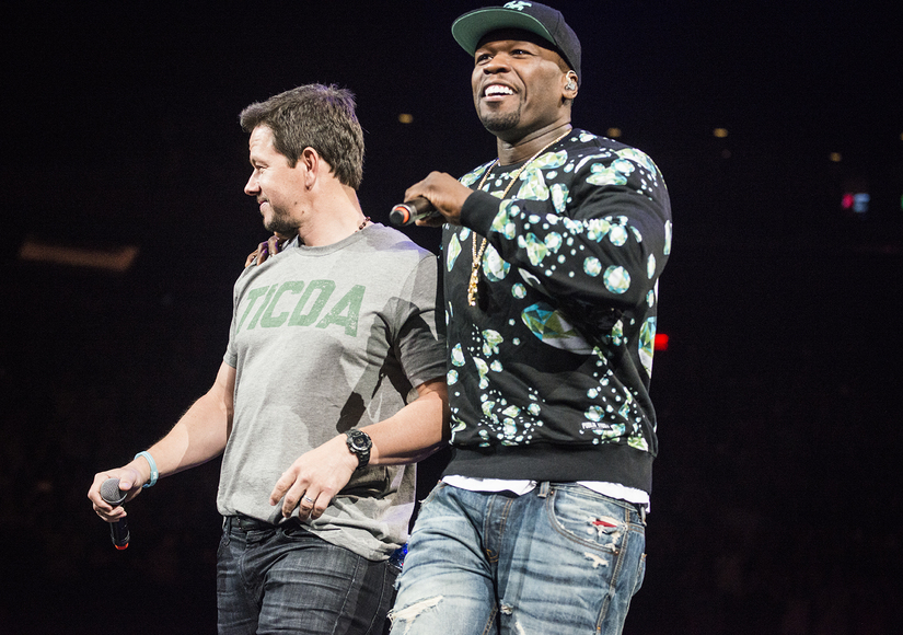 Mark Wahlberg Surprises NKOTB Fans, Gets Intro by 50 Cent!