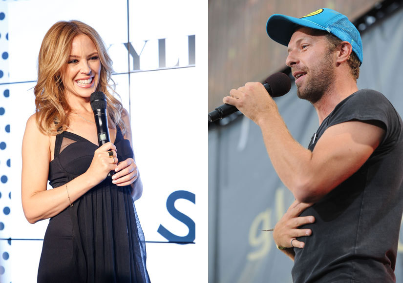 Chris martin dating kylie minogue cancer