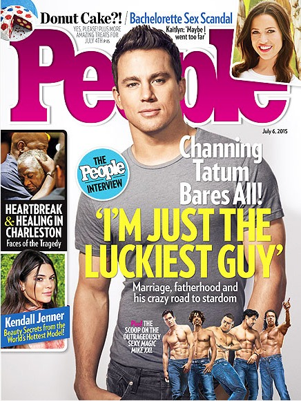 'Magic Mike XXL' Star Channing Tatum Is a Family Man First