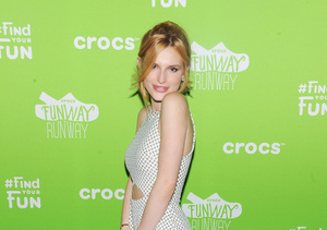 Get Bella Thorne's Peek-a-Boo Romper, Confesses This Is Her Favorite Summer…