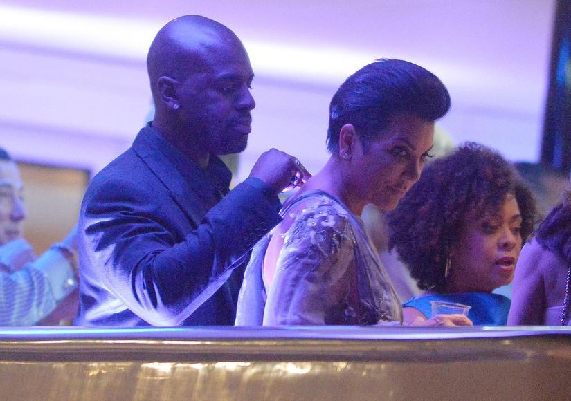 Corey Gamble Kris Jenner Cannes yacht romantic june24 2015 RAMEY EXC KRIS JENNER KIS#200E38D