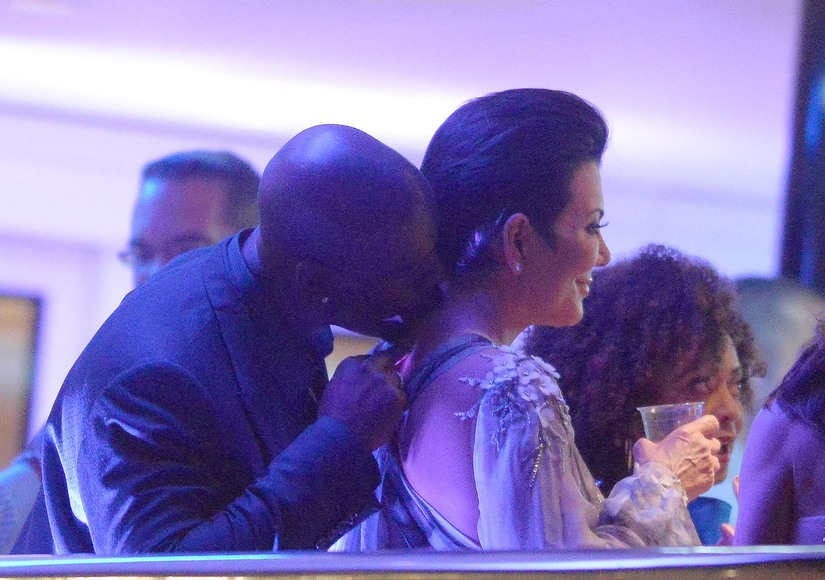 Corey Gamble Kris Jenner Cannes yacht romantic june24 2015 RAMEY EXC KRIS JENNER KIS#200E3E4