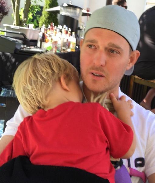 Singer Michael Bublé's Toddler Son Hospitalized