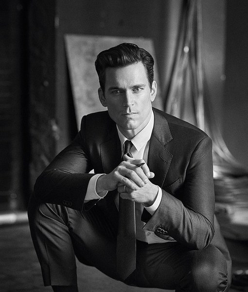 Matt Bomer Measures up for Giorgio Armani