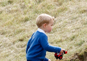 Prince George's Footwear Is Trending