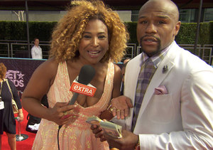 Floyd Mayweather Shows Off $40k in Cash He Brought to BET Awards in Wild…