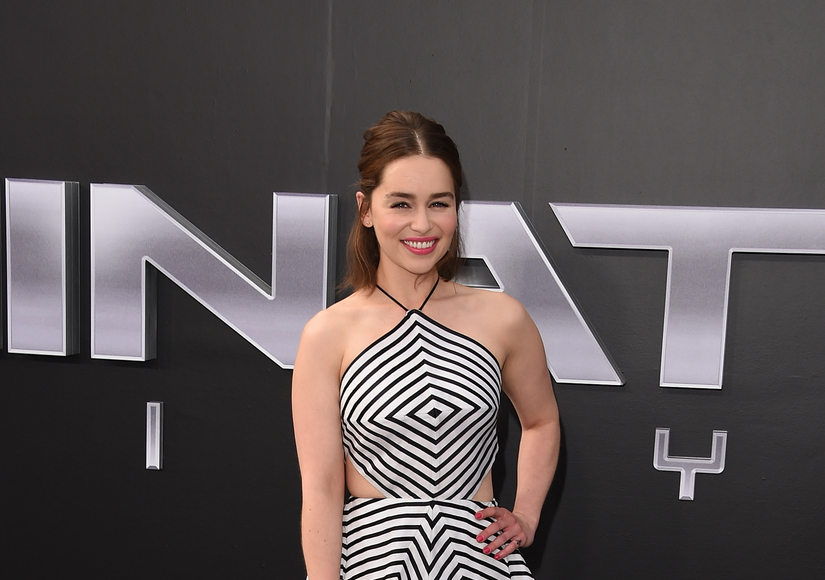 Did 'Terminator' Star Emilia Clarke Fracture Her Hip Break Dancing with Arnold?