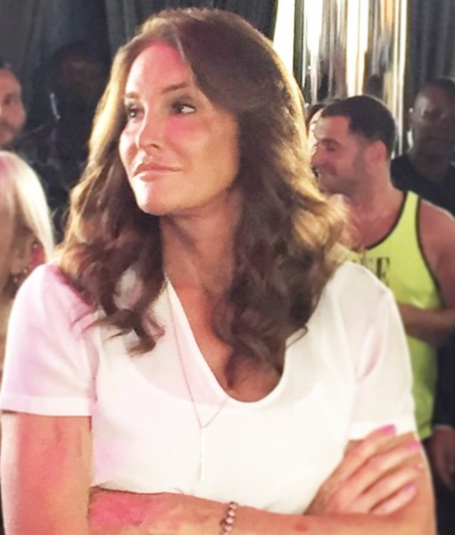 Lovely in White: Caitlyn's First LGBT Pride Appearance!