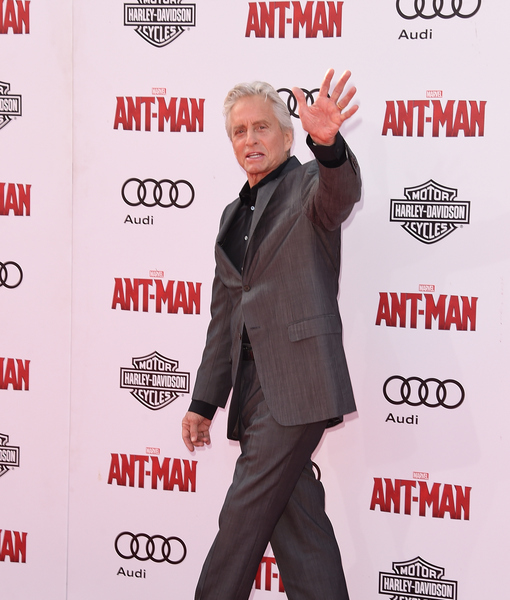 'Ant-Man' Star Michael Douglas Says Son Is Impressed with Marvel Movie