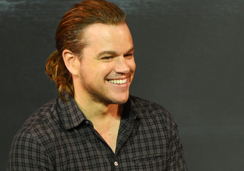 New Look! See Matt Damon's Amazing Ponytail