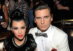 Kourtney Kardashian & Scott Disick in First Meeting After Split