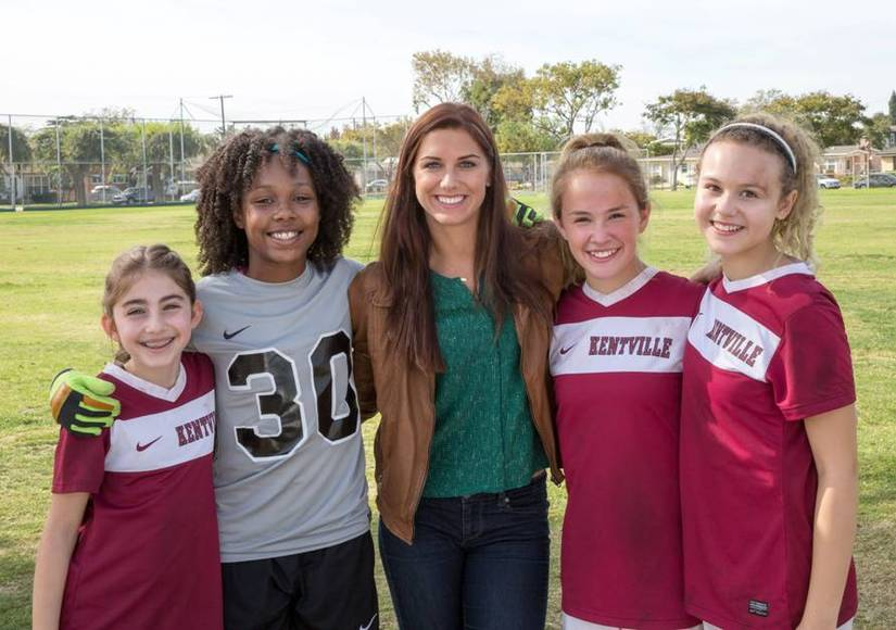 US Women's Soccer Star Alex Morgan Goes Hollywood with New TV Pilot
