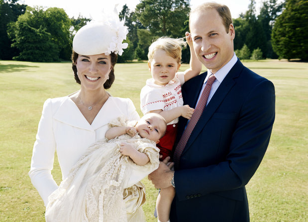 The Official Princess Charlotte Christening Pics, and How the Event Honored Diana