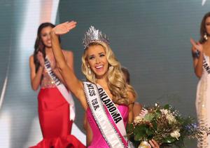 Miss Oklahoma Wins Miss USA
