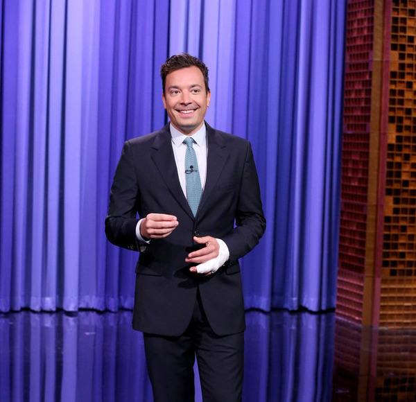 Jimmy Fallon Suffers Another Hand Injury