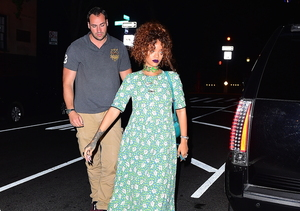 Rihanna Steps Out with Light Security Amid Death Threats