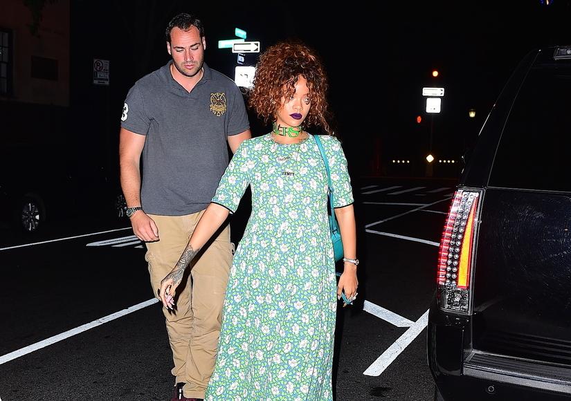 Rihanna Steps Out with Light Security Amid Death Threats