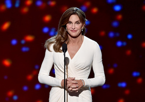 Caitlyn Jenner's Versace Gown Nearly Identical to Angelina Jolie's 2010 Dress