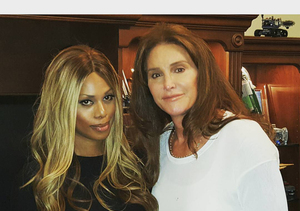 Caitlyn Jenner and Laverne Cox 'Finally Met' at 'I Am Cait' Screening