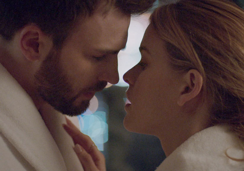 Chris Evans Quickly Gets to Know Alice Eve in Directorial Debut 'Before We…
