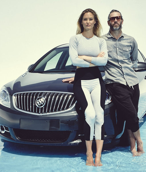 Buick Recommends Yoga with Bar Refaeli & Chad Dennis, We Recommend Watching!