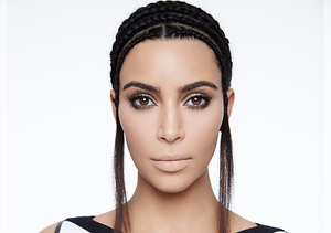 Kim Kardashian Flaunts Major Cleavage in New Hype Energy Campaign Pics