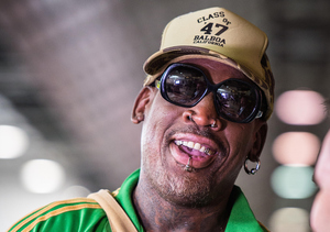Trump's First Big Endorsment: Dennis Rodman