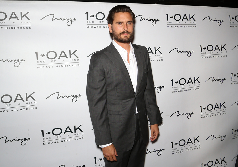 Scott Disick Was Not Kissing Mystery Blonde in Las Vegas