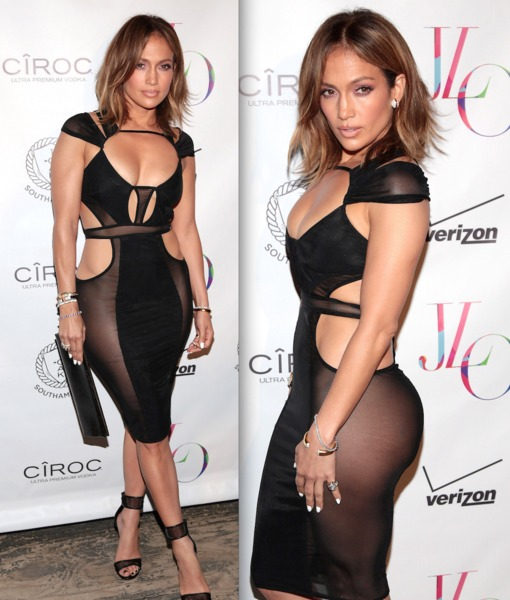 Sheer Perfection: J.Lo Turns 46 in Sexy Style
