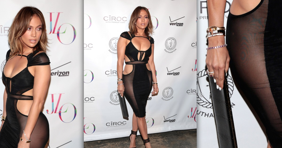 Sheer Perfection J Lo Turns 46 In Sexy Style With Casper