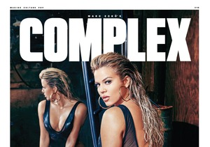 Khloé Kardashian's Booty Takes the Cover of 'Complex' Magazine