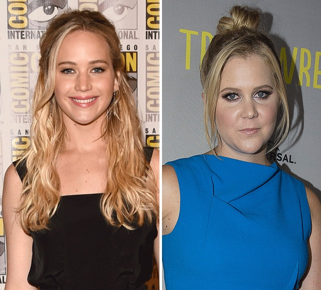 Besties Battle! Jennifer Lawrence & Amy Schumer Will Fight for the Same Golden Globe