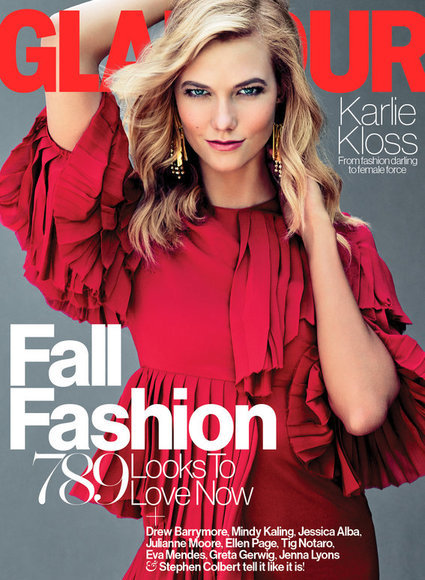Karlie Kloss Goes Back to School