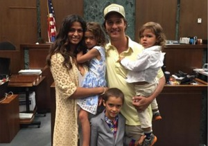 Matthew McConaughey's Wife Camila Is An American Citizen!