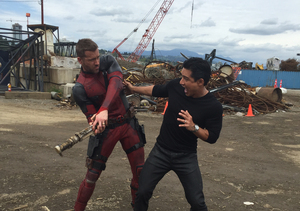 Ryan Reynolds Reveals First Celebrity Crush During 'Deadpool' Exclusive Set…