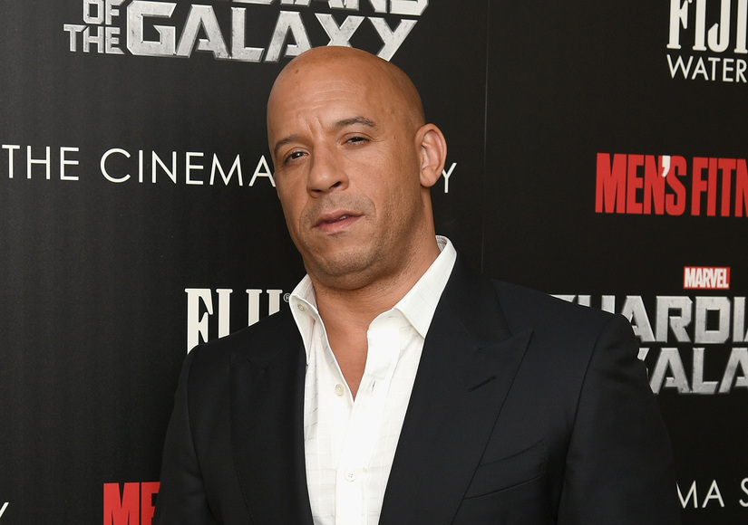 Vin Diesel Is Encouraging Daughter Pauline to Read... at 4 Months!