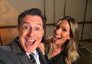 Stephen Colbert on Spending Time with David Letterman Before He Retired