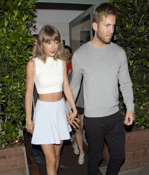 Did Taylor Swift & Calvin Harris Text and Make Up?