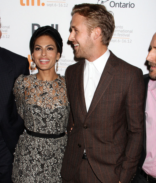Too Cute! Eva Mendes & Ryan Gosling's Dog Models Her New Clothing Line