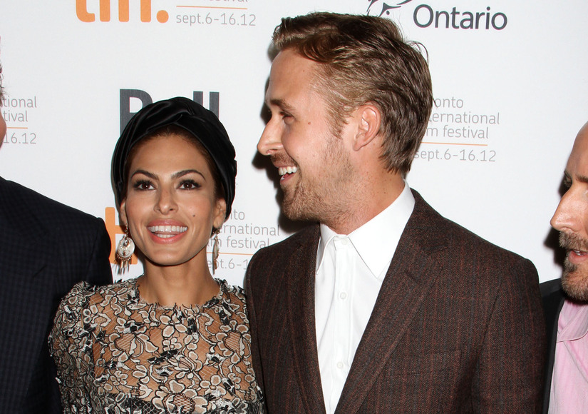 Too Cute! Eva Mendes & Ryan Gosling's Dog Models Her New Clothing Line