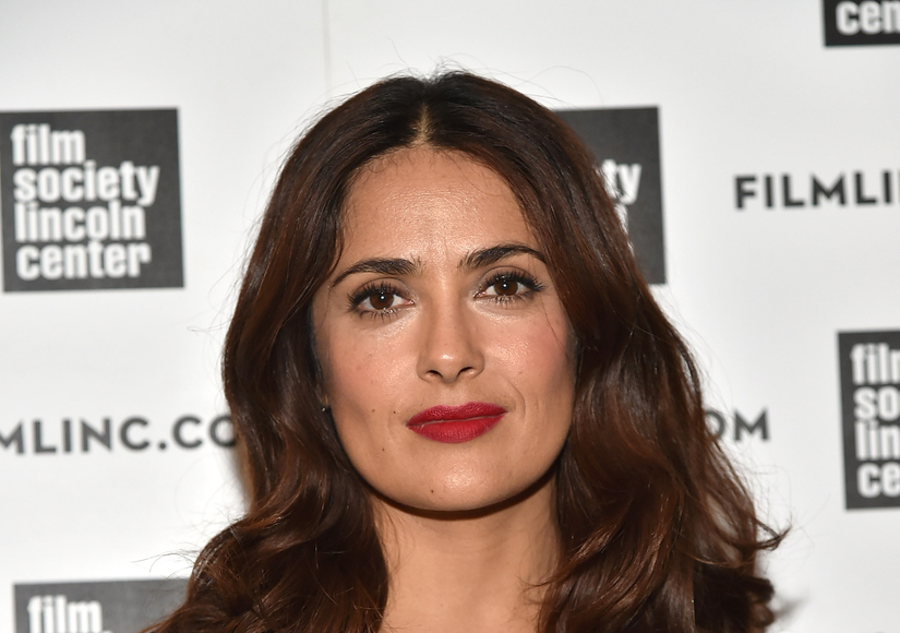 Scary! Salma Hayek Reveals Alleged Kidnappers' Plot to Abduct Her Daughter