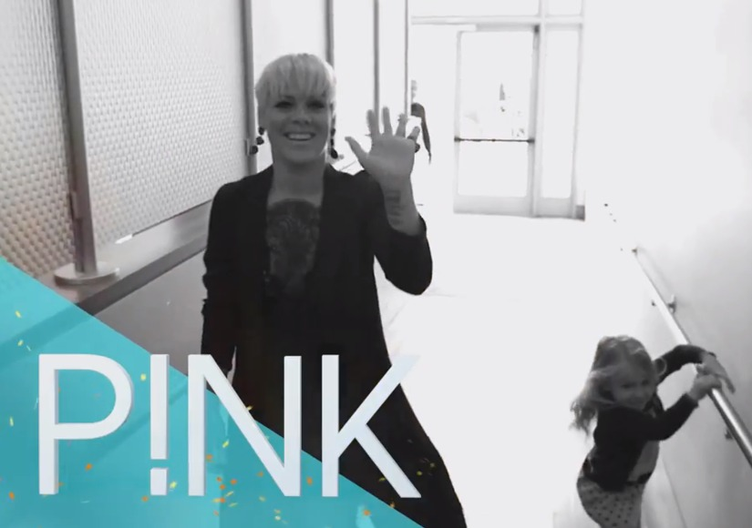 Have a Little P!nk Today: Hear Ellen's New Theme