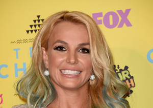 Britney's Colorful Teen Choice Awards Appearance